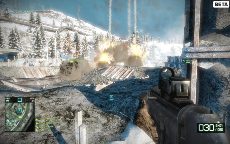 Test Battlefield Bad Company PC