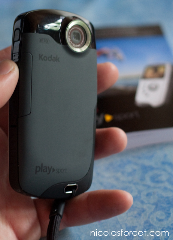 Test_Playsport ZX3 Camera HD etanche