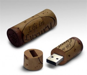 Cle USB bouchon