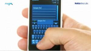Swype_Keyboard Symbian Nokia S60 v5
