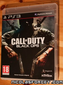 Test Call of duty black ops Playstation 3 PS3