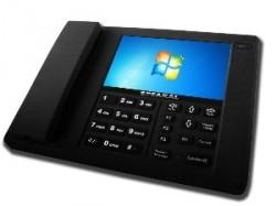 ces 2011 un t l phone fixe avec windows 7. Black Bedroom Furniture Sets. Home Design Ideas