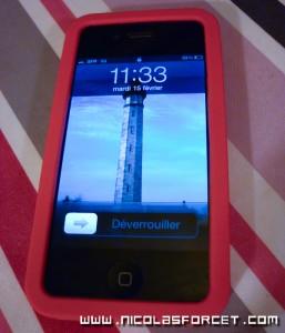 Housse sillicone iphone 4 Roxy Proporta