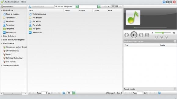 Synology USB Station 2 - Audio Station