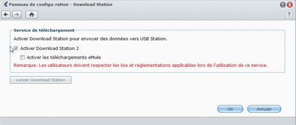 Synology USB Station - Download Station