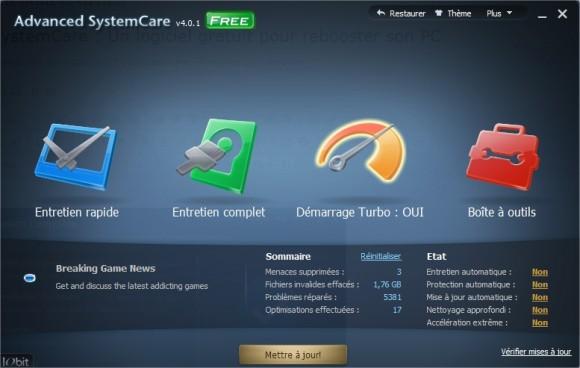 Advanced SystemCare V4