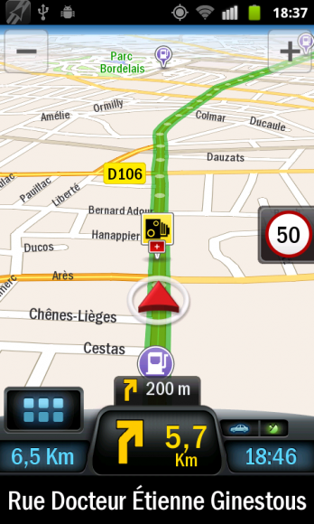 Test-Review-Copilot-Live-Android-Navigation-GPS-Navigation-radar