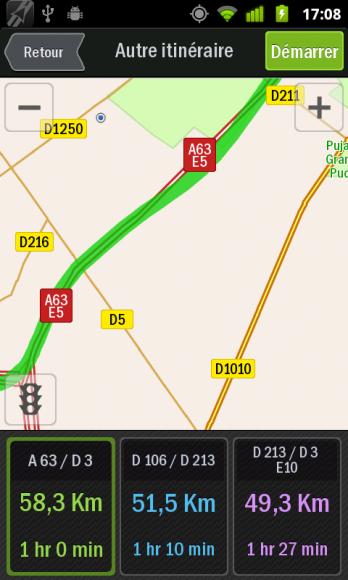 Test-Review-Copilot-Live-Android-Navigation-GPS-itineraires-alternatifs