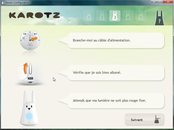 Karotz Configuration