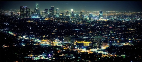 LA Light timelapse