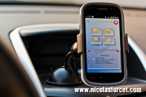 test exomount support de t l phone universel pour voiture nicolas forcet. Black Bedroom Furniture Sets. Home Design Ideas