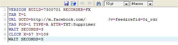iMacros-Firefox-Effacer-Mur-Facebook-automatiquement-entierement-Script