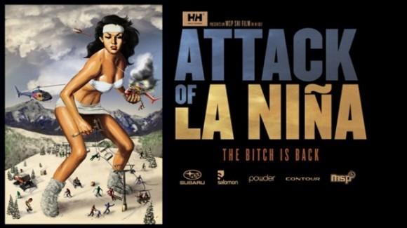 Ski-freeride-attack-of-la-nina-dvd-banniere