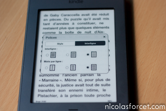 Test-Avis-Review-Kindle-Touch-Amazon-Liseuse-eInk-caractere