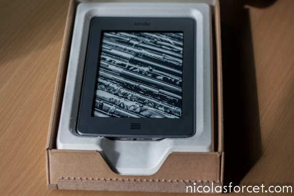 Test-Avis-Review-Kindle-Touch-Amazon-Liseuse-eInk-emballage
