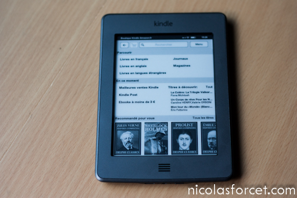 Test-Avis-Review-Kindle-Touch-Amazon-Liseuse-eInk-store