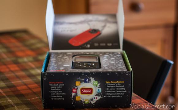 Test-Kodak-Playsport-ZX5-Ouverture-Boite