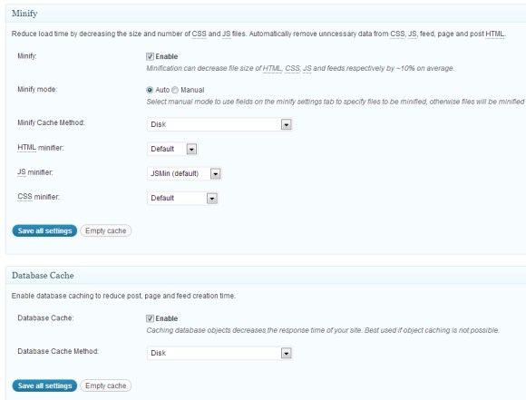 Configurer W3 Total Cache sur WordPress