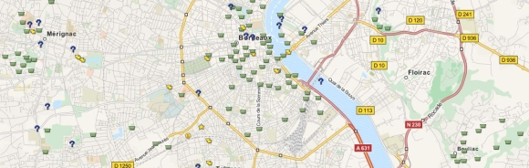 Geocaching-Map
