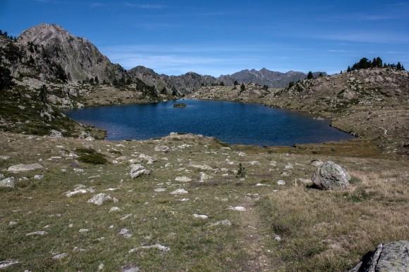 14 - Lac Tracens gauche avec Ile