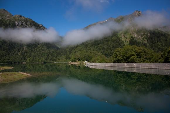 Lac de bious artigues départ rando