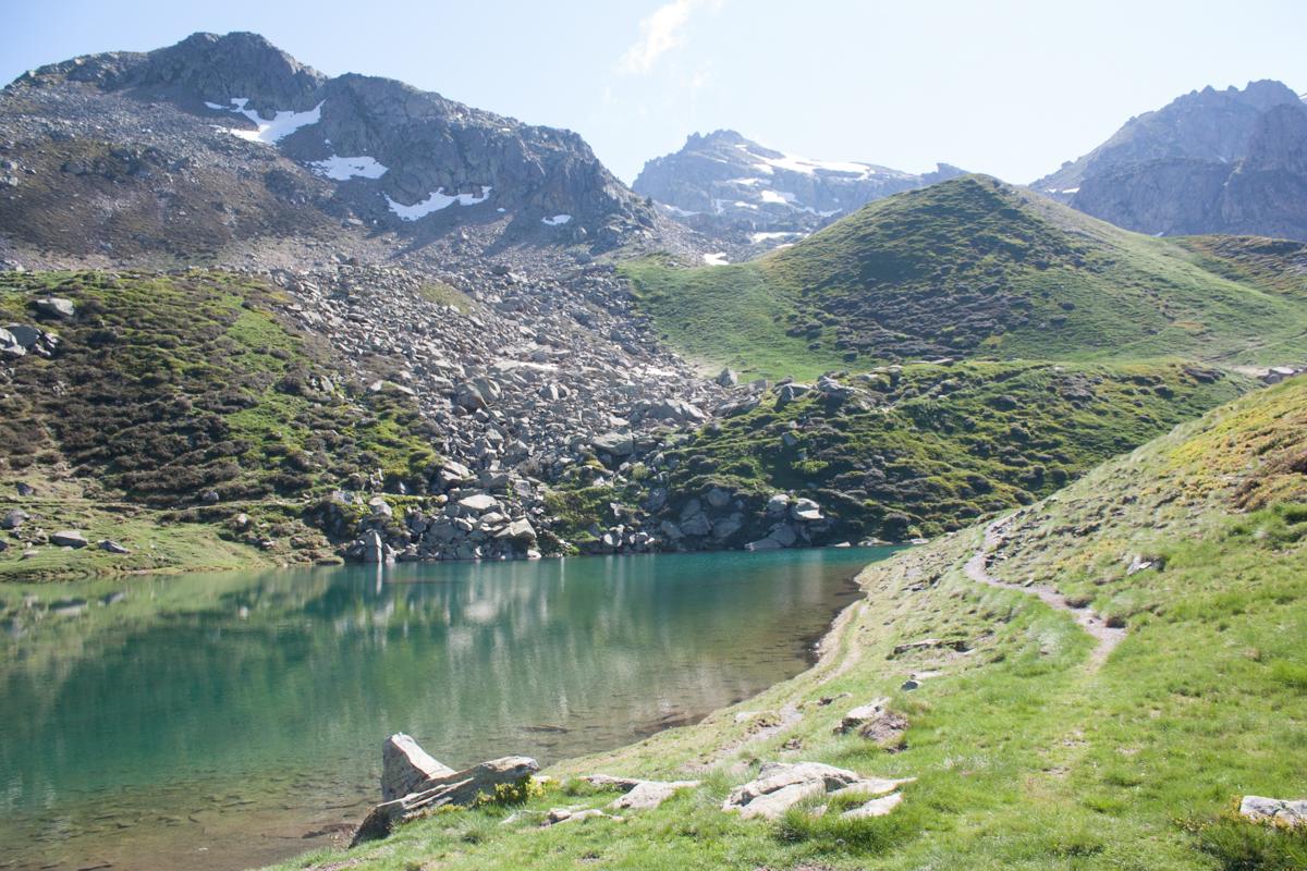 Lac de Pombie Pic du midi Ossau 64