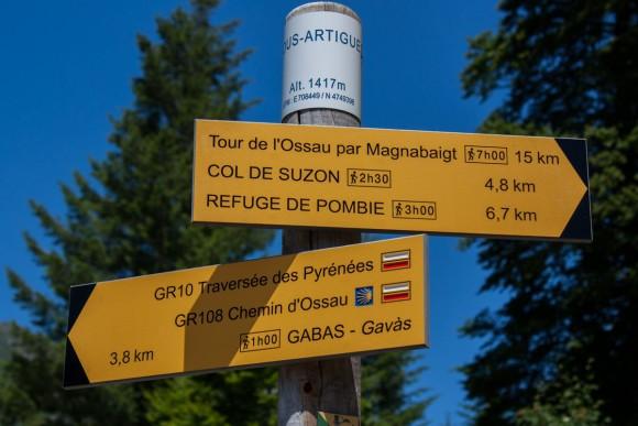 Départ rando lac de pombie Ossau Bious artigues