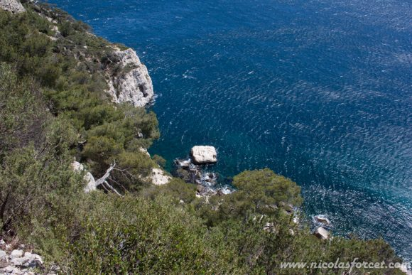 11d - Calanque des Pierres tombees