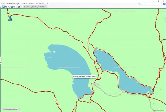 OSM pour Garmin Basecamp et GPS vue