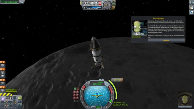 Kerbal Space Program orbite lunaire
