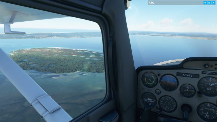 Cessna Ile oiseaux Flight Simulator 2020