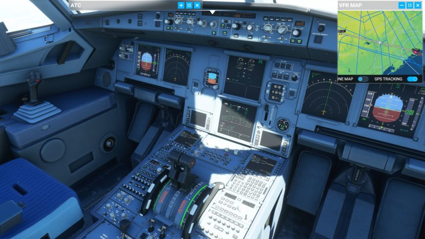 A320Neo cokpit Flight Simulator 2020