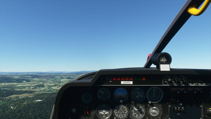 DR 400 flight simulator 2020