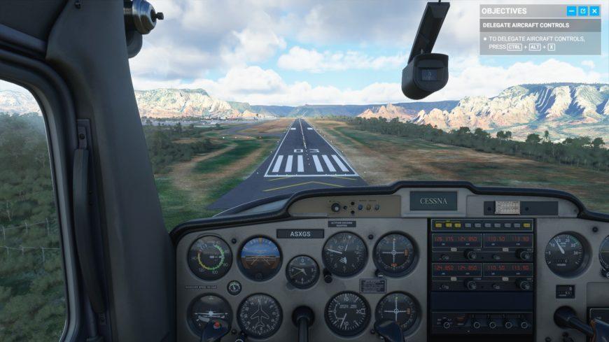 FS2020 Atterrissage Cessna 2