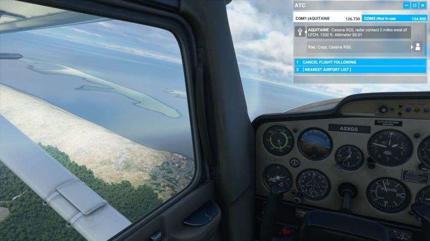 Cessna Dune Pila Flight Simulator 2020