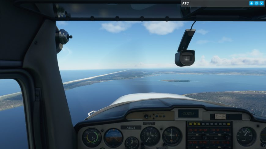 Cessna Arcachon Flight Simulator 2020
