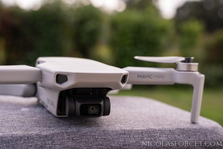 Drone-DJI-Mavic-Mini-gimbal-nacelle