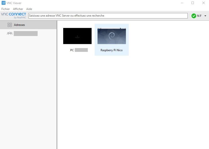 VNC-Viewer-interface