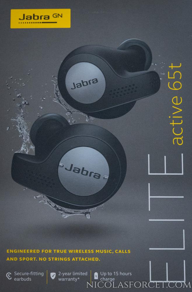 Ecouteurs True Wireless Jabra Elite Active 65T