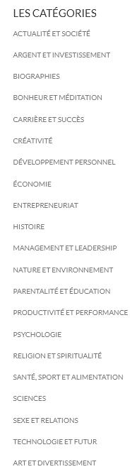 Koober-Categories