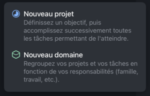 GTD-Things-3-Domaine-Projet