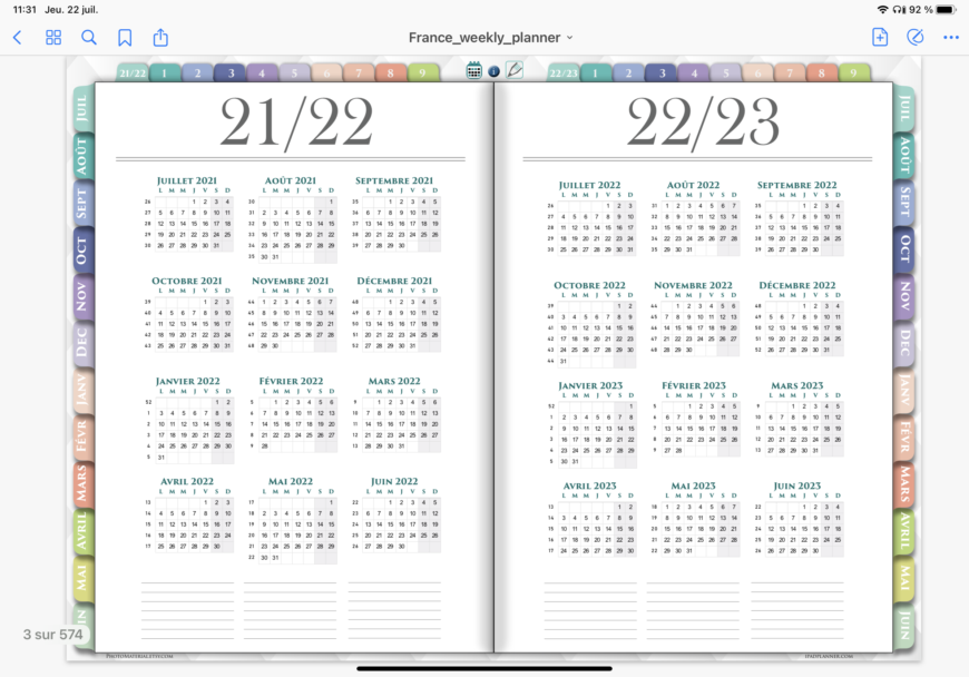 Ipad-planner-PDF-Goodnotes-vue-2-ans
