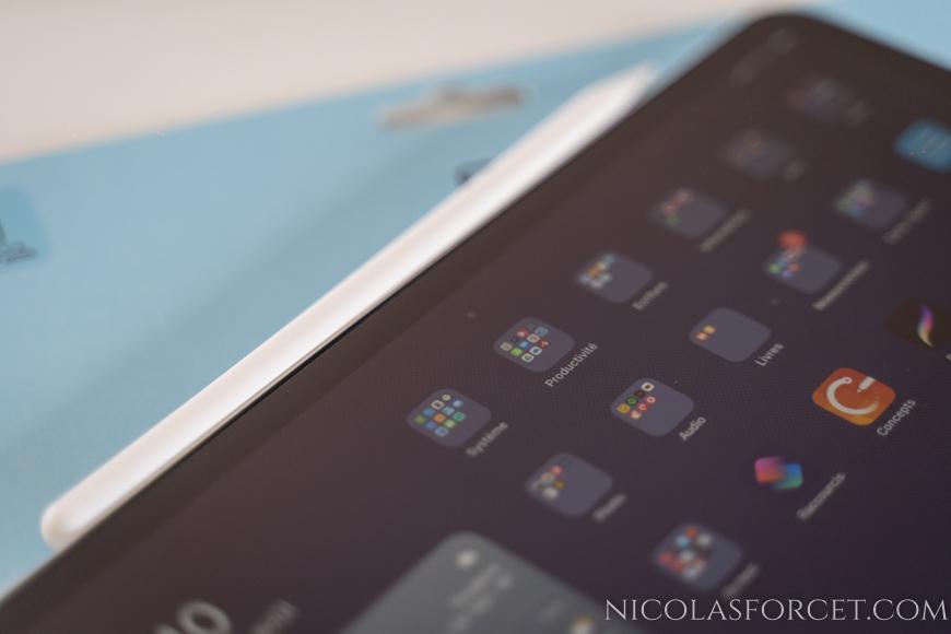 Test-Paperlike-iPad-pro-2020-11-pouces-poussiere